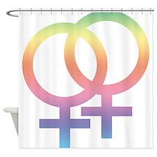 Gay Symbol - Female Shower Curtain