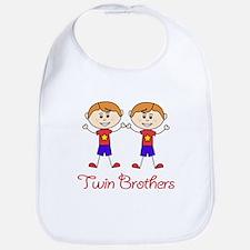 Twin Brothers Bib