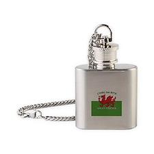 ...Cymru Am Byth... Flask Necklace
