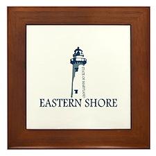 Eastern Shore MD - Lighthouse Design. Framed Tile