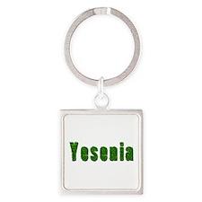 Yesenia Grass Square Keychain