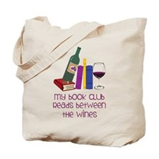 My Book Club Tote Bag