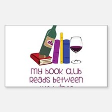 My Book Club Decal