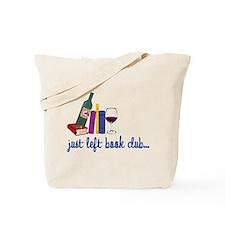 Just Left Tote Bag