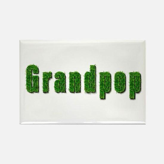 Grandpop Grass Rectangle Magnet