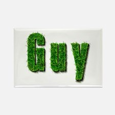 Guy Grass Rectangle Magnet