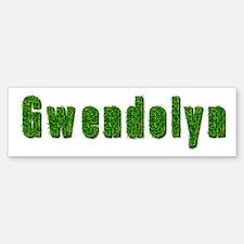 Gwendolyn Grass Bumper Bumper Bumper Sticker