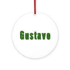 Gustavo Grass Round Ornament