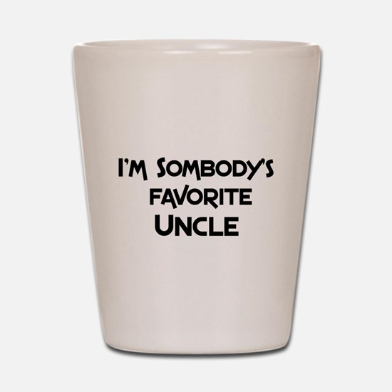 Funny Uncle Shot Glass