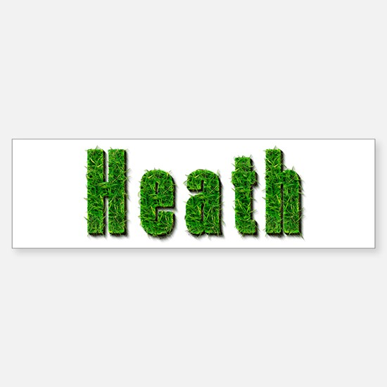 Heath Grass Bumper Bumper Bumper Sticker