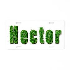 Hector Grass Aluminum License Plate