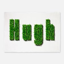 Hugh Grass 5'x7' Area Rug
