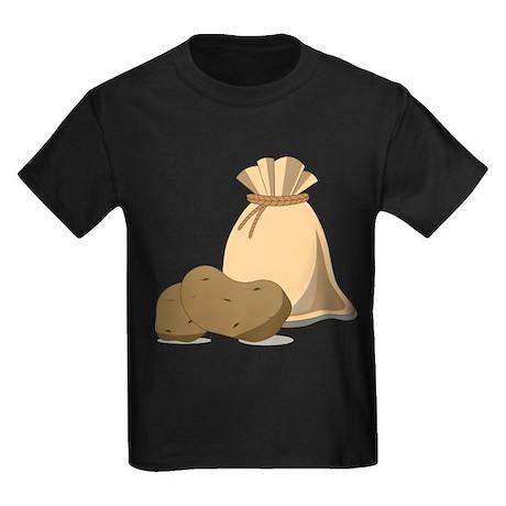 Potato Bag Kids Dark T-Shirt