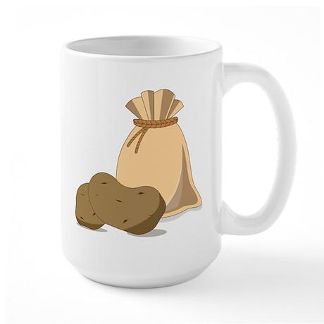 Potato Bag Large Mug