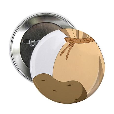 """Potato Bag 2.25"""" Button"""