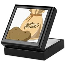 Potatoes Keepsake Box
