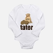 Tater Long Sleeve Infant Bodysuit