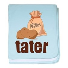 Tater baby blanket