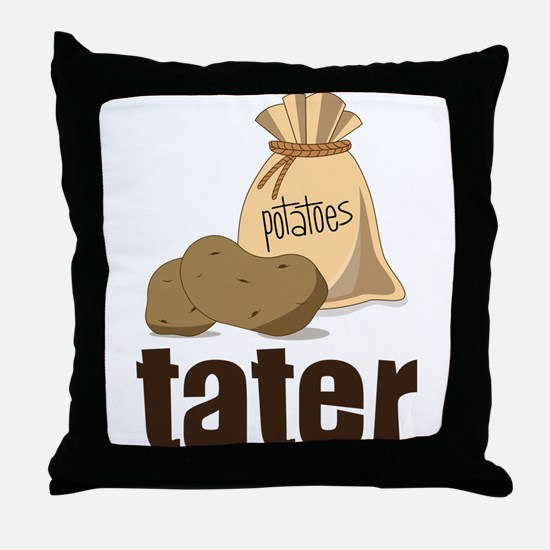 Tater Throw Pillow
