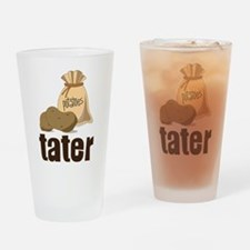 Tater Drinking Glass