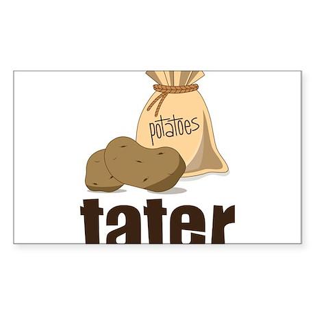 Tater Sticker (Rectangle)