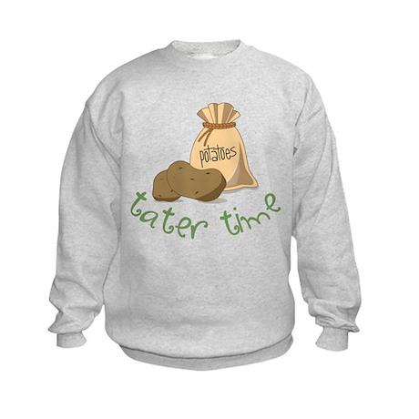 Tater Time Kids Sweatshirt