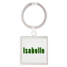 Isabelle Grass Square Keychain