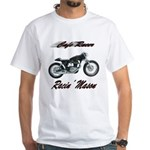 Cafe Racer Masons White T-Shirt