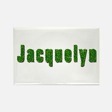 Jacquelyn Grass Rectangle Magnet