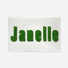 Janelle Grass Rectangle Magnet