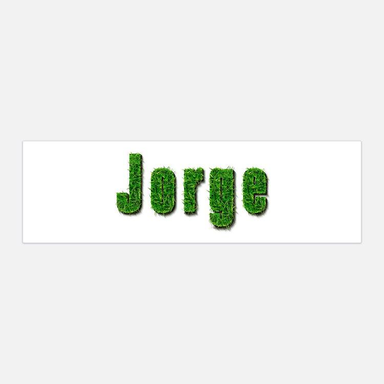 Jorge Grass 36x11 Wall Peel