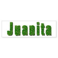 Juanita Grass Bumper Bumper Sticker