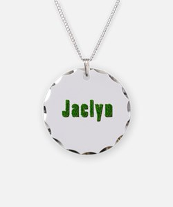 Jaclyn Grass Necklace