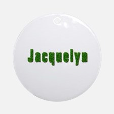 Jacquelyn Grass Round Ornament