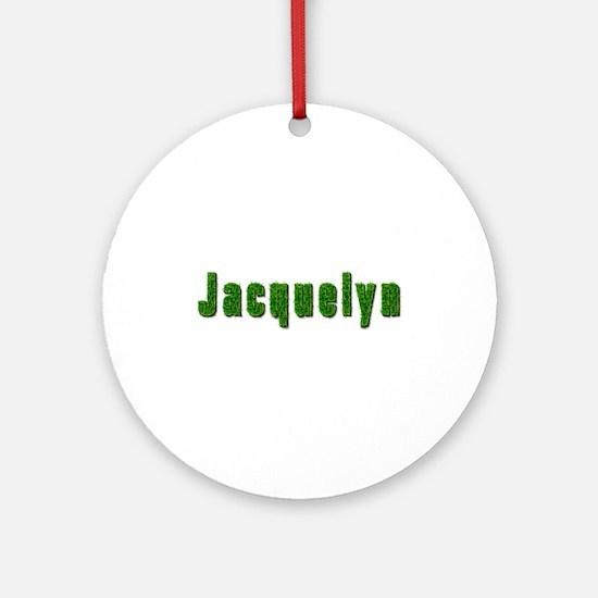 Jacquelyn Grass Round Ornament