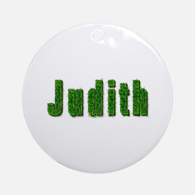 Judith Grass Round Ornament