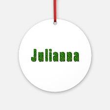Julianna Grass Round Ornament