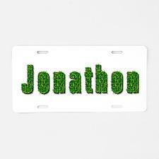 Jonathon Grass Aluminum License Plate
