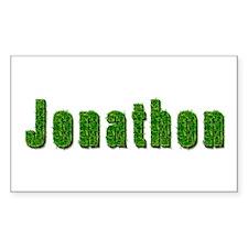 Jonathon Grass Rectangle Decal