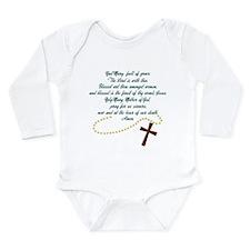 Hail Mary Long Sleeve Infant Bodysuit