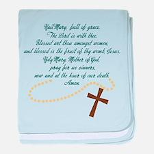Hail Mary baby blanket