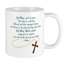 Hail Mary Small Mug