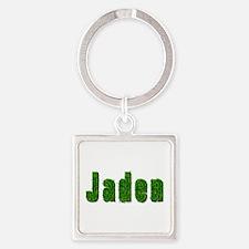 Jaden Grass Square Keychain
