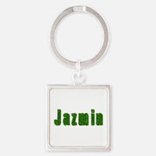 Jazmin Grass Square Keychain