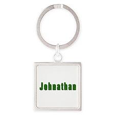 Johnathan Grass Square Keychain