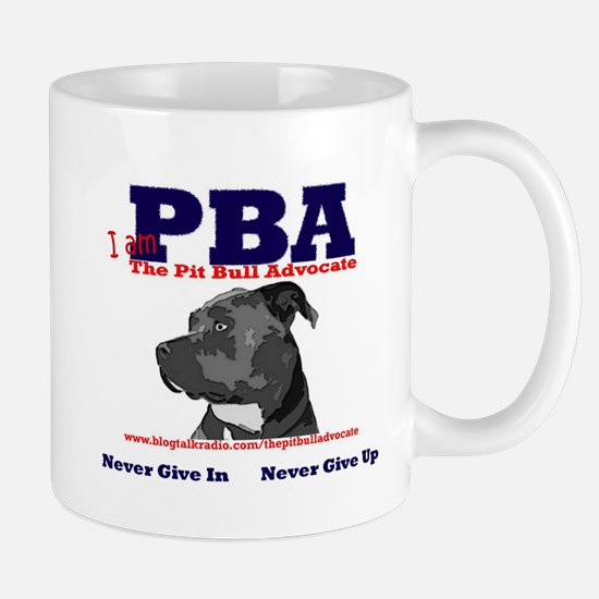 I am The Pit Bull Advocate Mugs