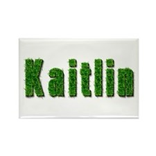 Kaitlin Grass Rectangle Magnet