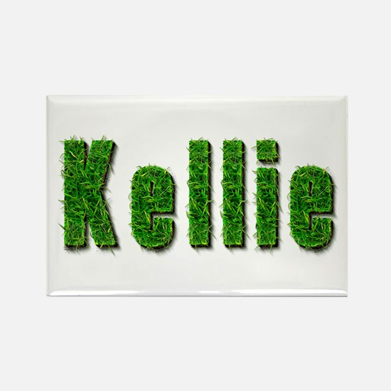 Kellie Grass Rectangle Magnet