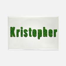 Kristopher Grass Rectangle Magnet