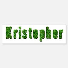 Kristopher Grass Bumper Bumper Bumper Sticker